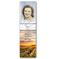 Signet demi-image portrait - Grand / Half image portrait bookmark - Big