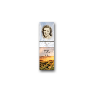Signet demi-image portrait - Petit / Half image portrait bookmark - Small