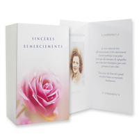 Cartes de remerciements / Thank-You Cards