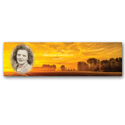 Signet pleine image paysage - Grand / Full image landscape bookmark - Big